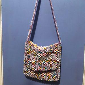 Fun Multi-Color Shoulder Bag